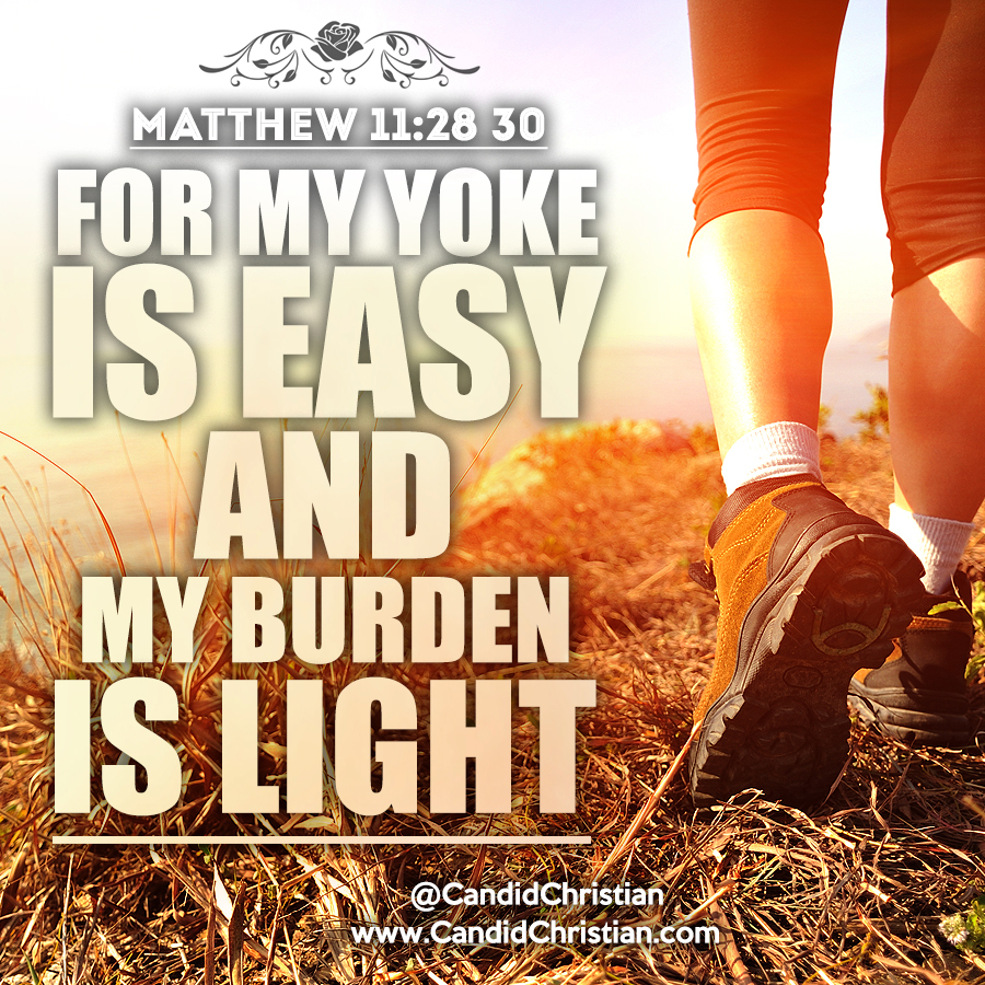 For My Yoke is Easy