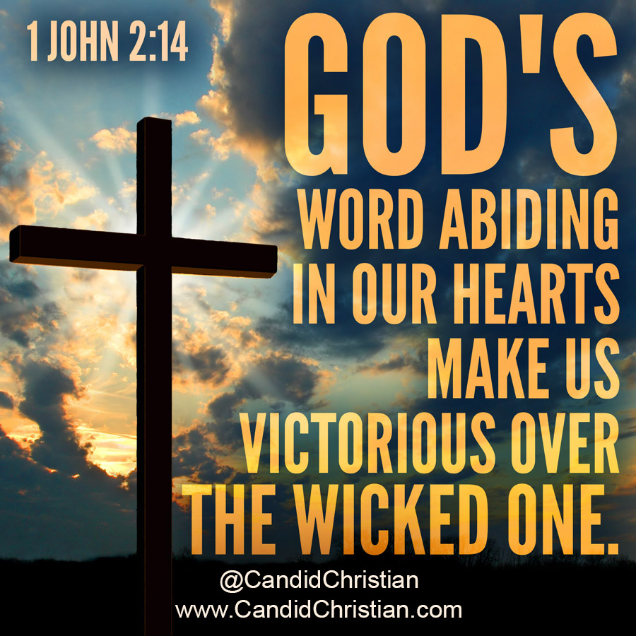 God's word abiding in our hearts