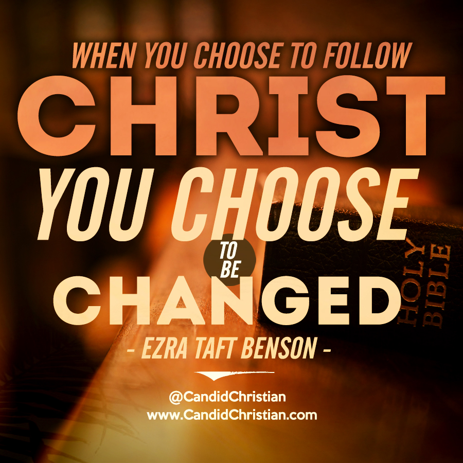When You Choose to Follow Christ