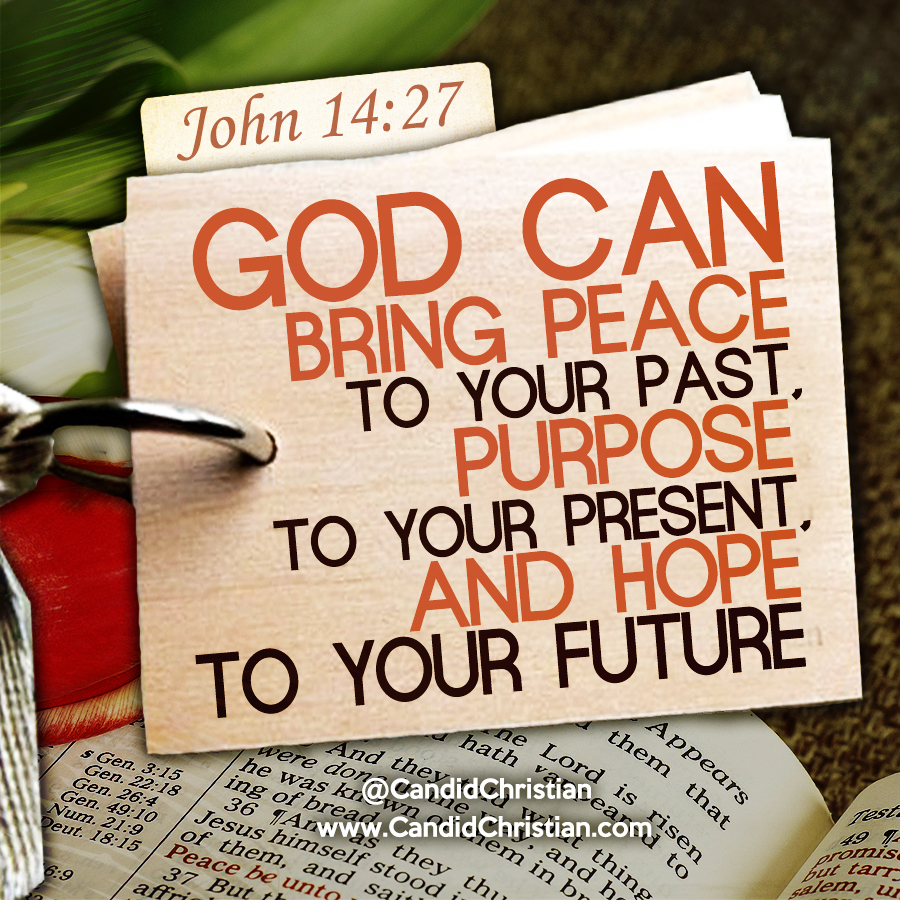 God Can Bring Peace to Your Past