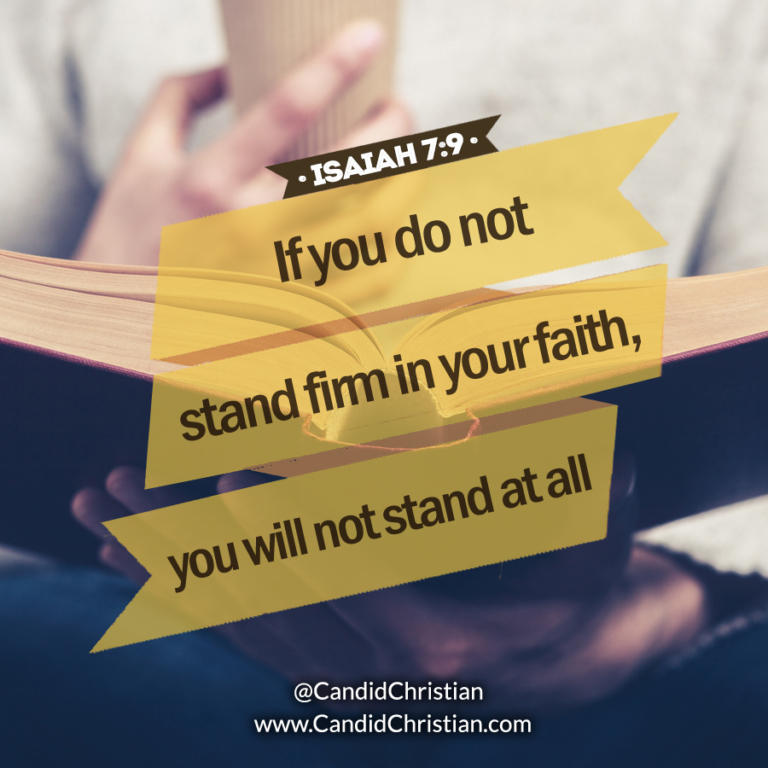 if-you-do-not-stand-firm-in-your-faith