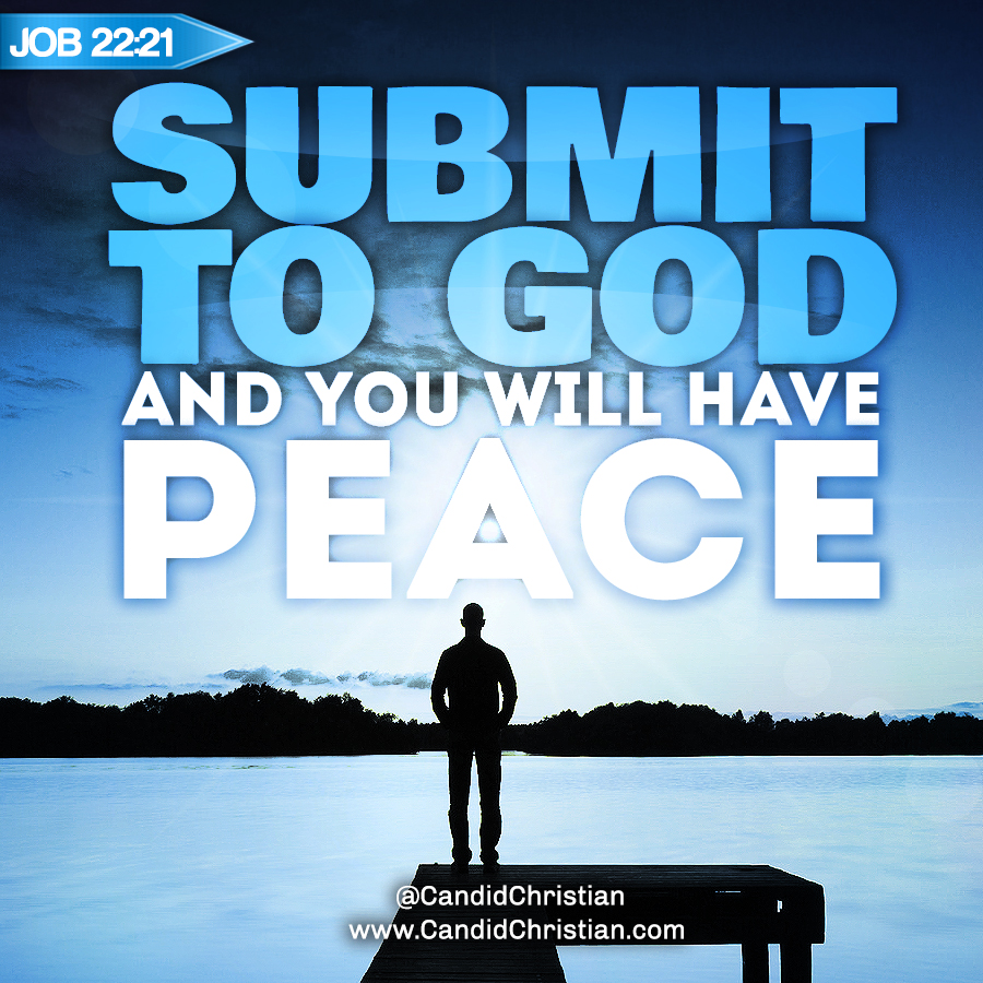 Submit to God and You Will Have Peace