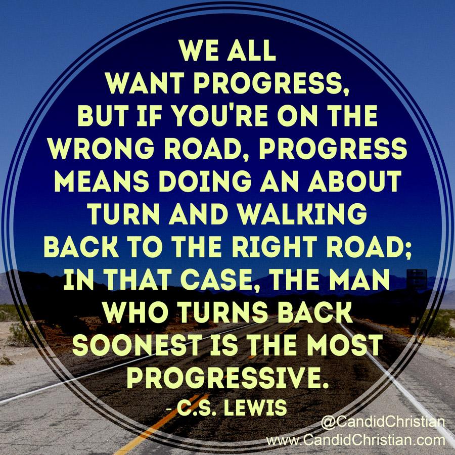 We All Want Progress
