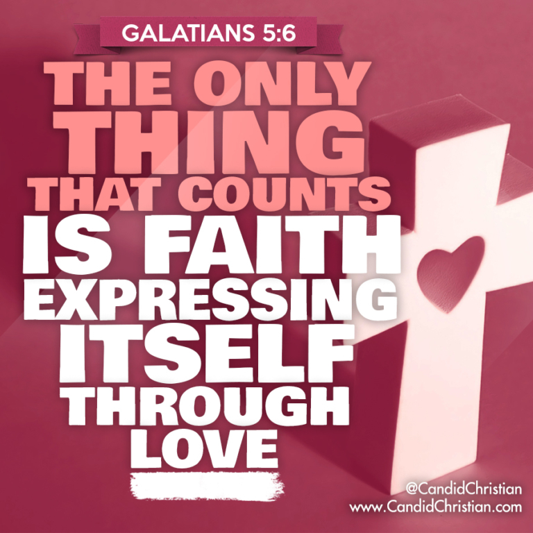 Faith Expressing through Love