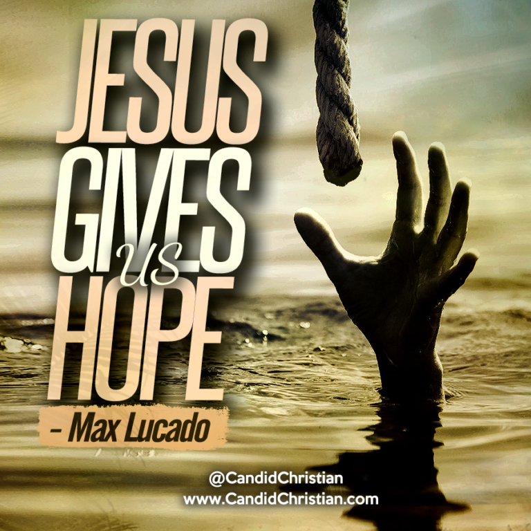 Jesus Gives Us Hope