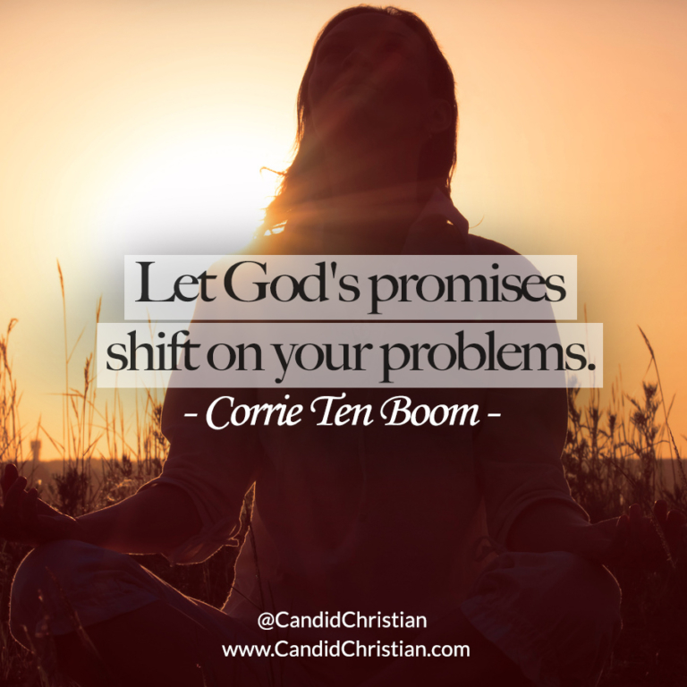 Let God's Promises Shift on Your Problems